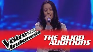 "Kaneishia ""When We Were Young"" I The Blind Auditions I The Voice Kids Indonesia GlobalTV 2016"