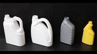 plastic oil container bottle blow molding machine produce machine with liquid level line