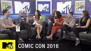 Agents of S.H.I.E.L.D. Cast Reunites w/ Josh Horowitz | Comic Con 2016 | MTV