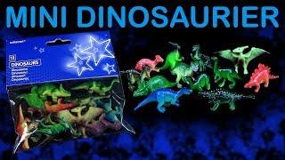 12 Mini Dinosaurier im Beutel - Mini Spielzeug Dino Figuren - Review