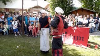 preview picture of video 'Adictum zum Mittelaltermarkt Neuenbürg 2011 - Die komplette Show zum Spectaculum'