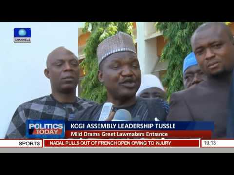 Politics Today: Kogi Assembly Leadership Tussle Deepens