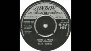 "Fats Domino  ""What A Party""  1961  Imperial Records"