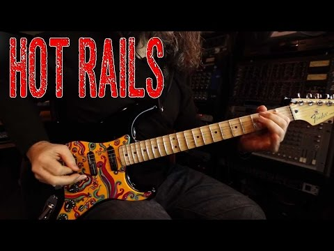 Hot Rails demo in a Fender Stratocaster
