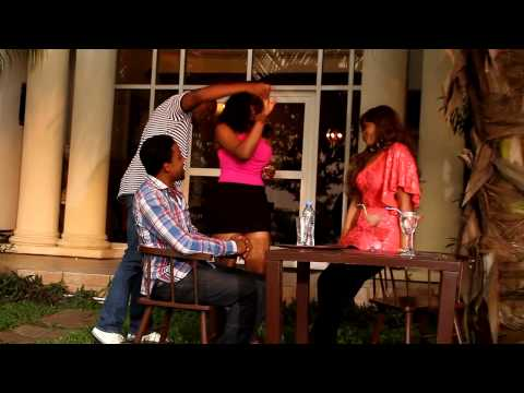 Scene from Blood in the Lagoon (Nigerian Movie)