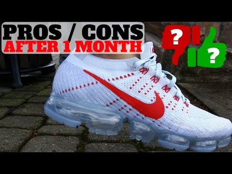 1 MONTH AFTER WEARING NIKE AIR VAPORMAX: PROS & CONS