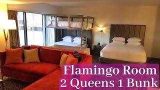 Flamingo Las Vegas - Flamingo Room | 2 Queens 1 Bunk **New Room**