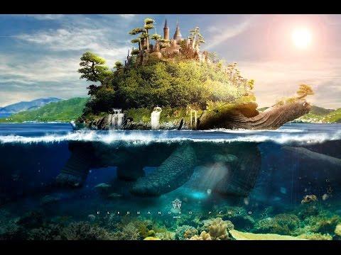 TutorialPhotoshop Underwater Turtle Island