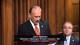Jati Sidhu – Member's Statement 09/12/2015