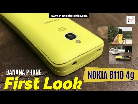 Nokia 8110 First Impression: Return of Banana