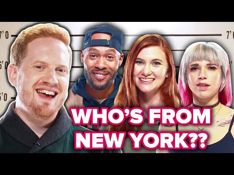 Dialect Coach Guesses Who's Faking The New York Accent Out Of A Lineup