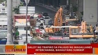 BT: Daloy ng trapiko sa paligid ng Magallanes Interchange, bahagyang sumikip