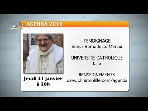 Agenda du 18 janvier 2019