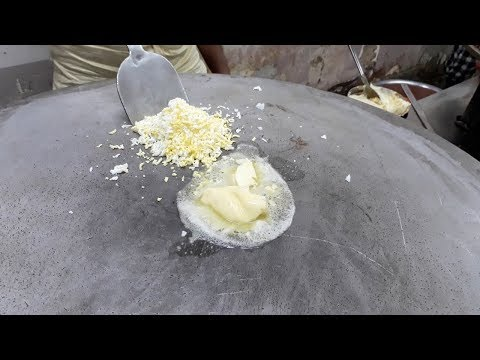 EGGS fried with LOTS of BUTTER | Egg Ghotala | Indian Street Food