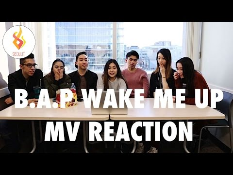 B.A.P Wake Me Up MV Reaction [SeouLit]