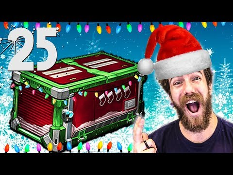 25 NEW HOLIDAY FROSTY FEST ROCKET LEAGUE CRATE OPENING!