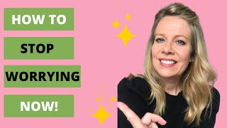 HOW TO STOP OVERTHINKING & WORRYING; TWO STRATEGIES THAT WORK!