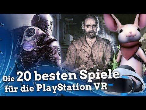 Die 20 besten Spiele für die PlayStation VR
