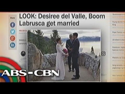 UKG: Desiree Del Valle, Boom Labrusca, ikinasal na!