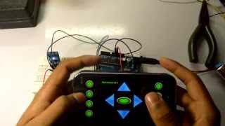 Arduino Bluetooth control with Android