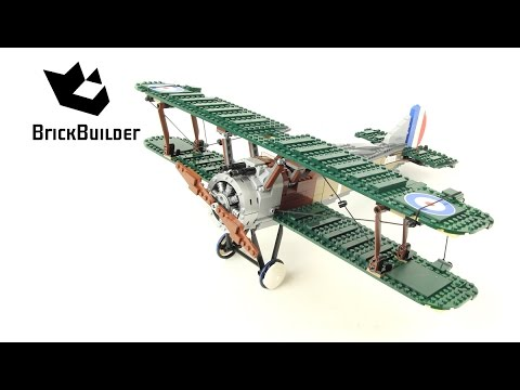 Vidéo LEGO Creator 10226 : Sopwith Camel