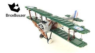 Lego Creator 10226 Sopwith Camel - Lego Speed Build