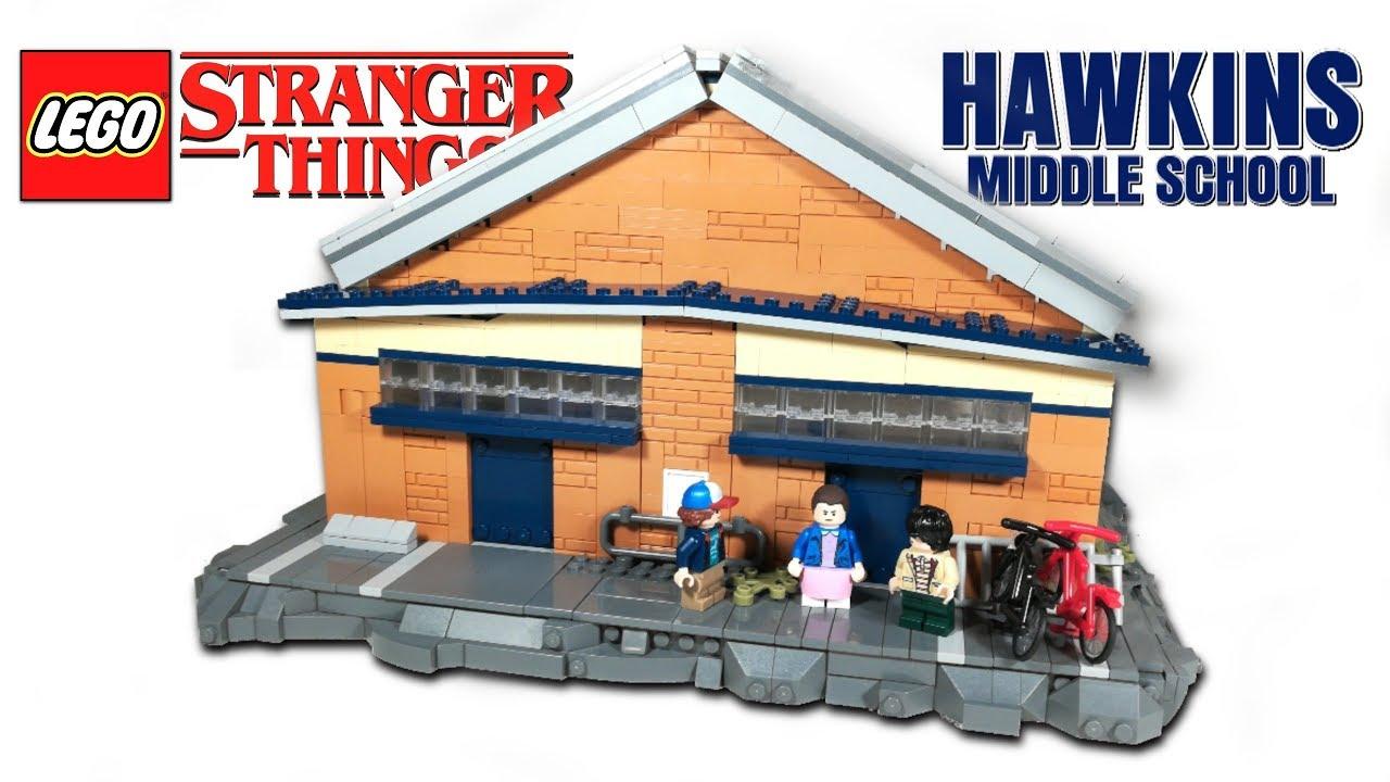 LEGO HAWKINS MIDDLE SCHOOL From STRANGER THINGS // LEGO MOC