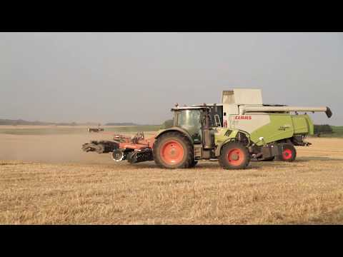 Démonstration CLAAS Moisson 2018