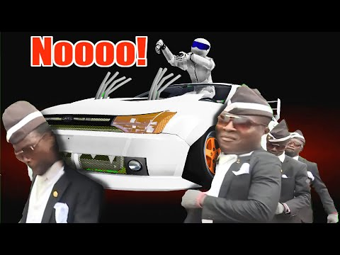 COFFIN DANCE  FUNERAL MEME COVER #26 ASTRONOMIA Freaky Cover BeamNG Drive