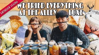 WE TRIED EVERYTHING AT THE ALLEY LUXE | Eatbook Vlogs | EP 107