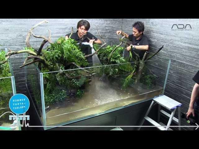 [ADAview] 東京スカイツリータウン・すみだ水族館 新規レイアウト制作 パート1
