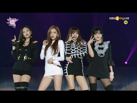 BLACKPINK - INTRO +  '마지막처럼 (AS IF IT'S YOUR LAST)' in 2018 Seoul Music Awards (видео)