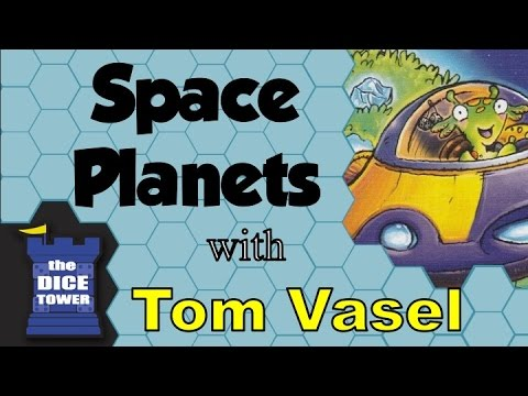Space Planets Review - with Tom Vasel