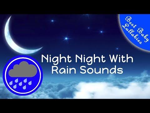 👶😴8 HOURS Rain Sounds For Sleep Lullabies Songs for Babies To Go To Sleep Baby Lullaby RAIN THUNDER