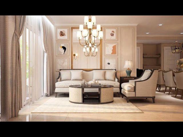 Thiết kế nội thất tân cổ điển đẹp – căn hộ Sunrise city quận 7