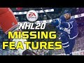 NHL 20: 5 Things NOT In The Game