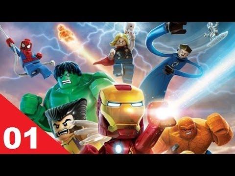 Vidéo LEGO Jeux vidéo PS3LMSH : Lego Marvel Super Heroes PS3