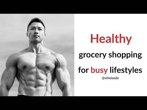 How to Meal Prep | Grocery Shopping for Healthy Food