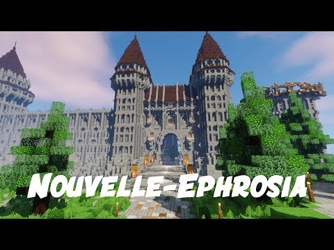 Epic Médiéval City Minecraft Map