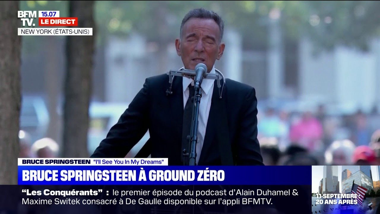 """Hommage aux victimes du 11-Septembre: Bruce Springsteen interprète """"I'll See You In My Dreams"""""""