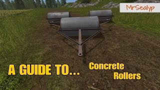 Farming Simulator 17 PS4: A Guide To... Concrete Rollers
