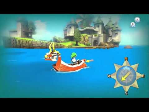 Видео № 0 из игры Legend of Zelda: The Wind Waker HD (Б/У) [Wii U]