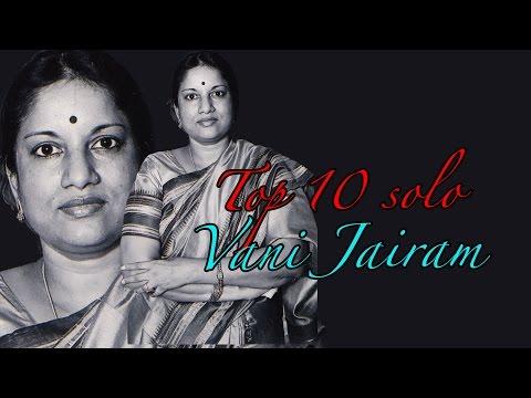 Top 10 solo Hits of Vani Jairam | Malayalam Movie Audio Jukebox