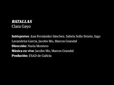 BATALLAS, Clara Gayo
