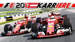 MAXIMALES RISIKO! – F1 2017 FERRARI SAISON #9 | Lets Play Formel 1 2017 Gameplay German Deutsch