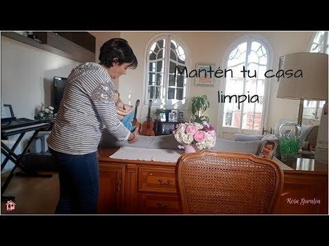 Simples Pasos Para Ordenar y Limpiar Tu Hogar