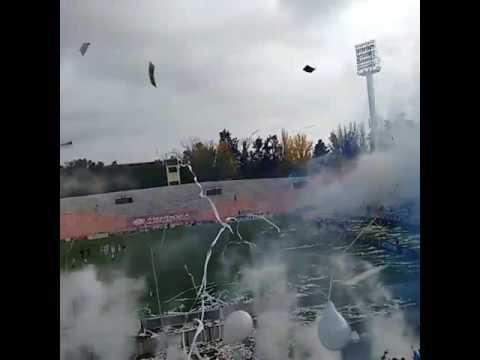 """""""Recibimiento La Banda Del Expreso Godoy Cruz vs Belgrano"""" Barra: La Banda del Expreso • Club: Godoy Cruz"""