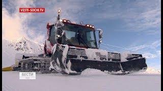 Трассы горнолыжных курортов Сочи протестировали специалисты