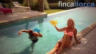 Video Dieter und Freunde/Familie auf der Finca Son Sard Nou