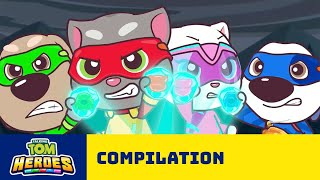 ☀️ Summer Fun With Talking Tom Heroes! 🦸 Cartoon Compilation